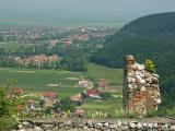 View from Rasnov Castle