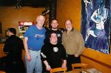 RICH LUKASZ, GUNS CAMBELL, AND KURT SWANSON WITH PAT SMILLIE