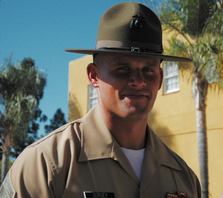 Drill Instructor Dorsey...
