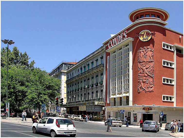 The Hard Rock Cafe (former Condes Cinema)