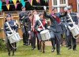 The Band Marches Forward