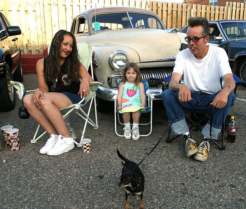 Old Car and  Dog at Porkys.jpg