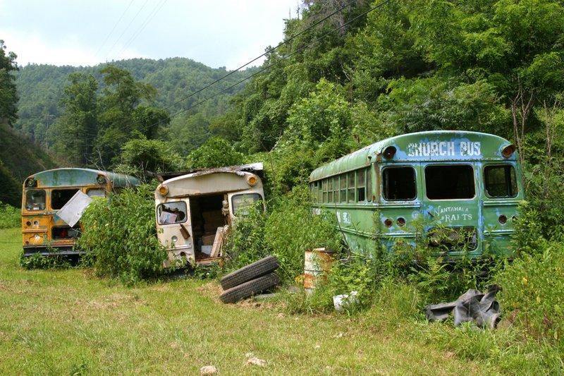 Abandoned Church Bus