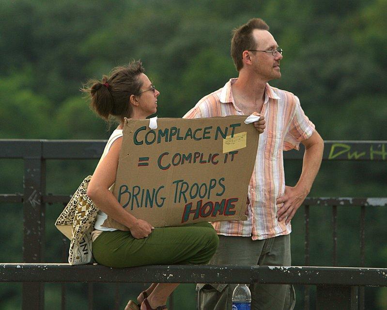 Complacent equals Complicit