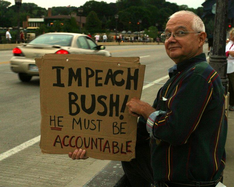 Hold Bush Accountable