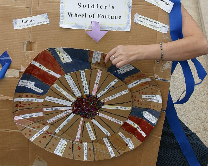 Soldier Wheel of Fortune
