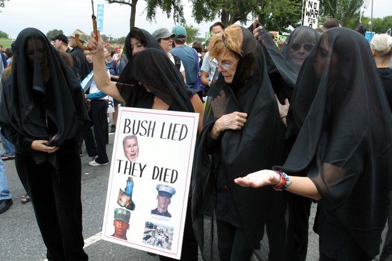 Bush Lied They Died