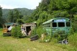 Abandoned Church Bus