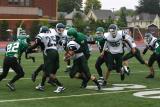 Nick DePofi tackling the RB