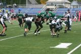 Jeremy Sedelmeyer fighting to break a tackle