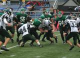 Nate Wood running for a good gain on 1st down