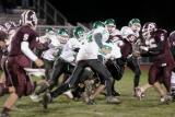 Seton defending against a running play