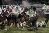 Seton defending against another running play