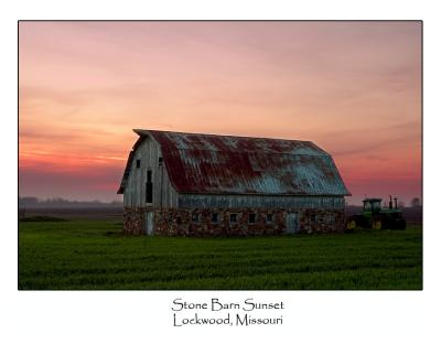 Stone Barn Sunset.jpg (Up To 20 x 30)