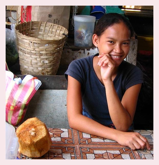 Talisay Public Market girl