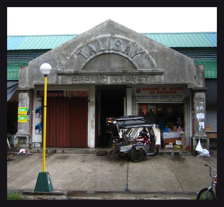 Talisay Public Market entrance