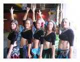 belly dancers pose