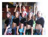 belly dancers pose