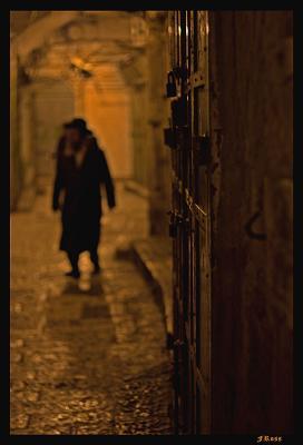 Alley  in Old City of Jerusalem at Night.jpg