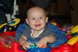 Brooks in Mega Saucer - 6 1/2 months
