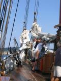 Tucking Away The Sail