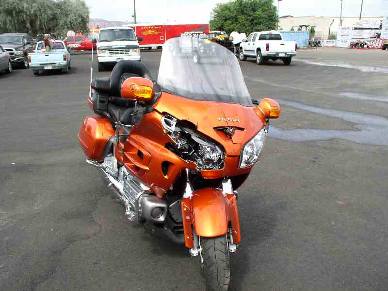 A great bike destroyed by a careless driver in Colorado!