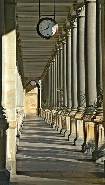 Karlovy Vary: Colonnade