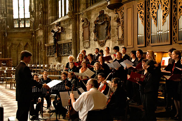 Vienna: Choir Practice at St Stephen