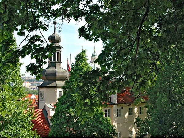 Prague: Peekaboo Steeple