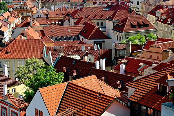 Prague: Roof Angles