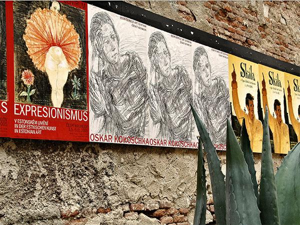 Cesky Krumlov: Schiele Gallery Wall