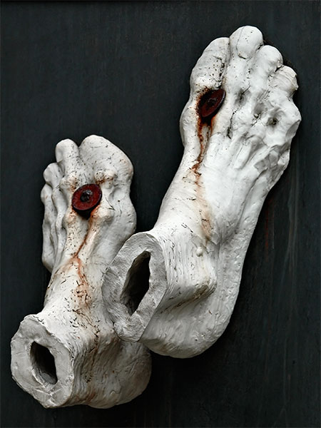 Cesky Krumlov: Tired Feet