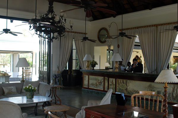Lobby of the Royal Livingstone