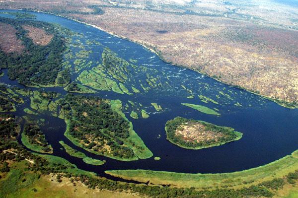 Zambezi River - Namibia-Zambia