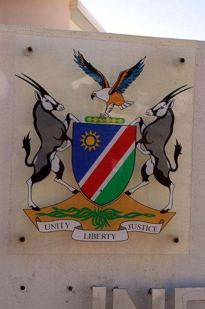Namibian coat of arms