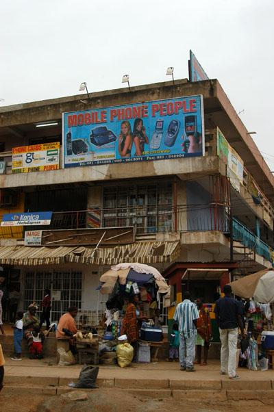 Across from Ghana Telecom