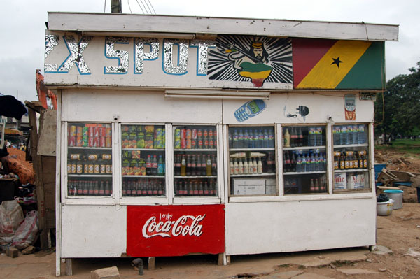 Drinks kiosk, Nkrumah Circle