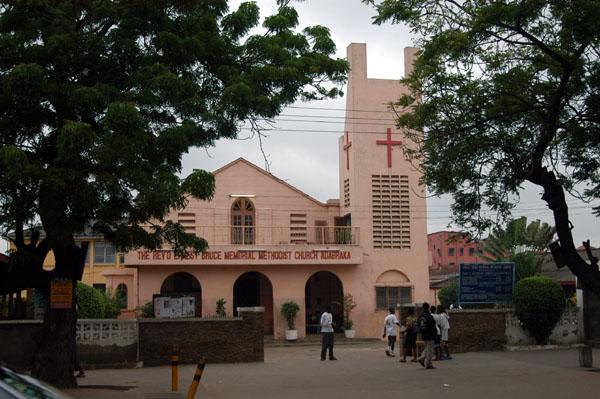 Rev. Ernest Bruce Memorial Methodist Church, Adabraka