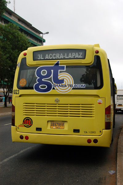 Bus in Accra