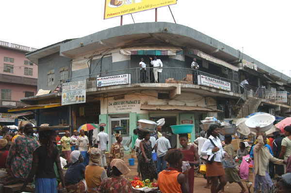 Accra Central Business District