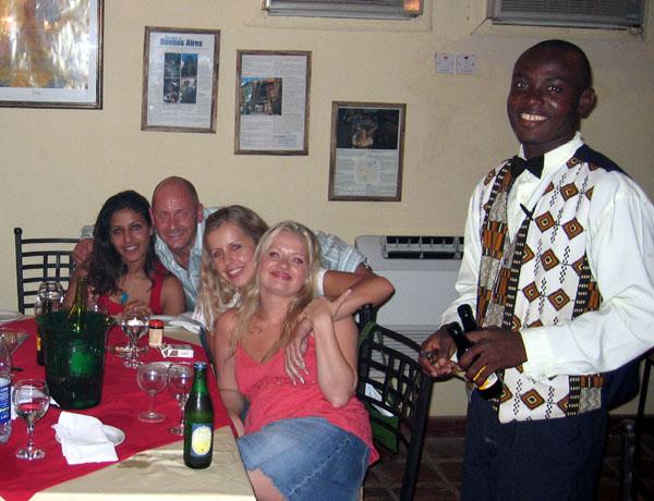Our Table, El Gaucho, Accra