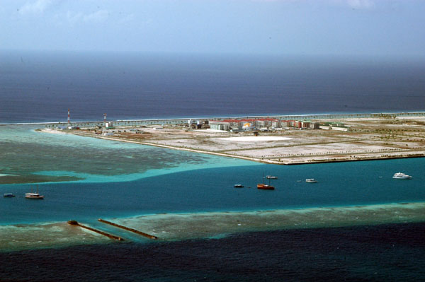 Landfill east of Male Airport-Hulhu Male