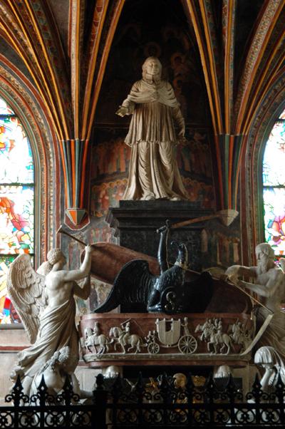 Kazimierz IV Jagiello, King of Poland 1447-1492, tomb by Veit Stoss, Holy Cross Chapel