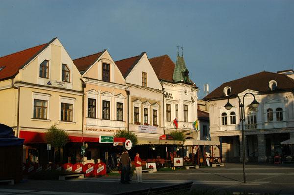 Burghers houses,  Mariánske námestie (Marienplatz), Žilina