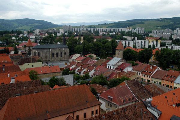 View from the Basilica tower, Bardajov
