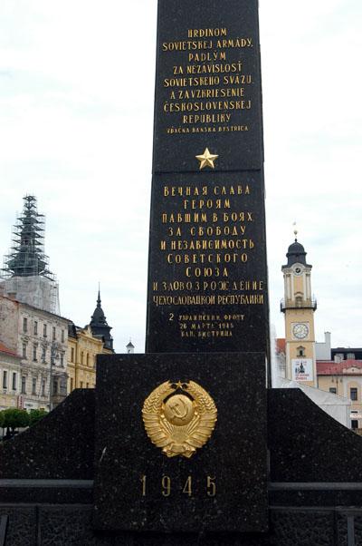Soviet war memorial, Banská Bystrica