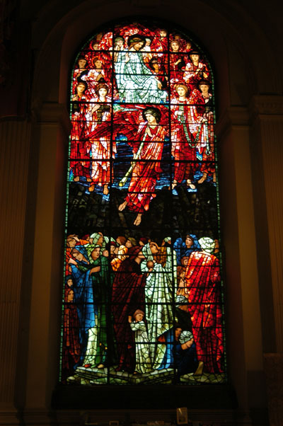 Stained glass by Sir Edward Burne-Jones