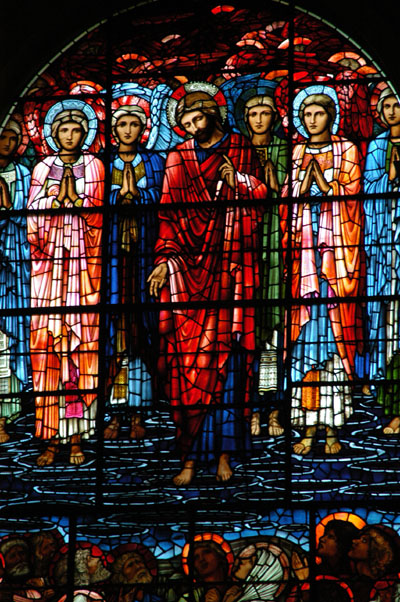 Stained glass, Birmingham Cathedral