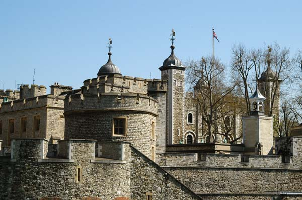The White Tower and the outer curtain walls