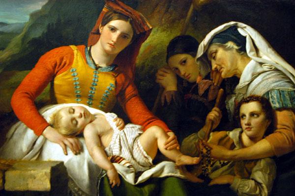 Italian Family, 1830, François-Joseph Navez (1787-1869)